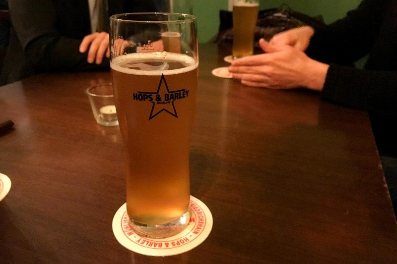 craft beer in Berlin Friedrichshain Hops and Barley cider