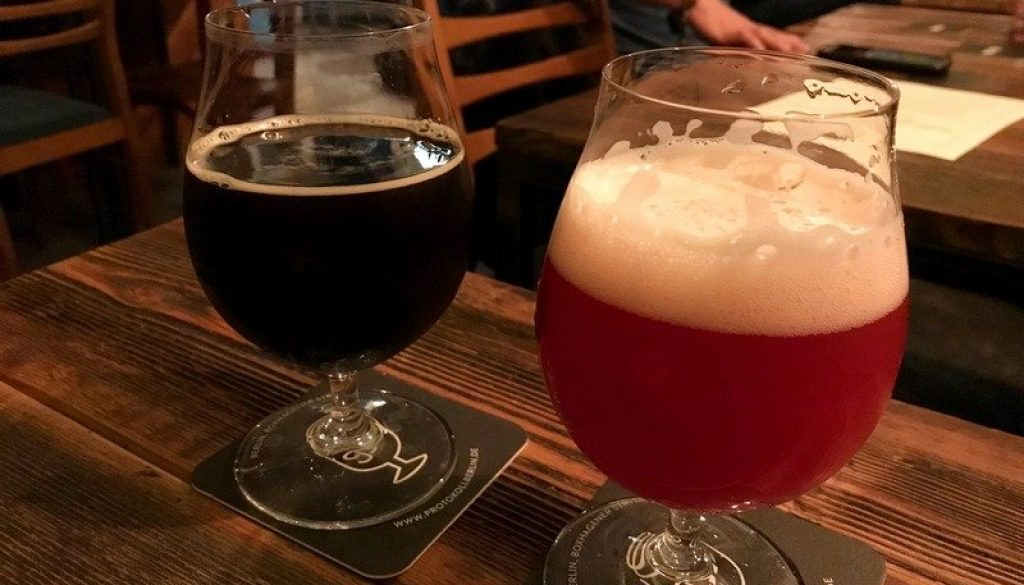 Protokoll craft beer bar in Berlin Friedrichshain